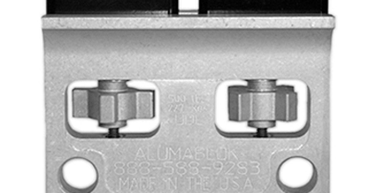 Acs Sound And Lighting Airwall Hanger Aluma Blok 500lb