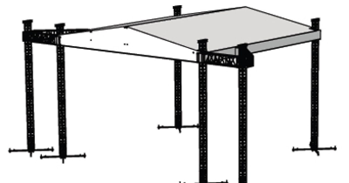 Acs Sound And Lighting Roof System Peaked 50 X 50