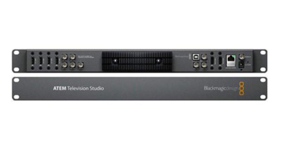 Acs Sound And Lighting Blackmagic Atem Tv Studio 8 Input