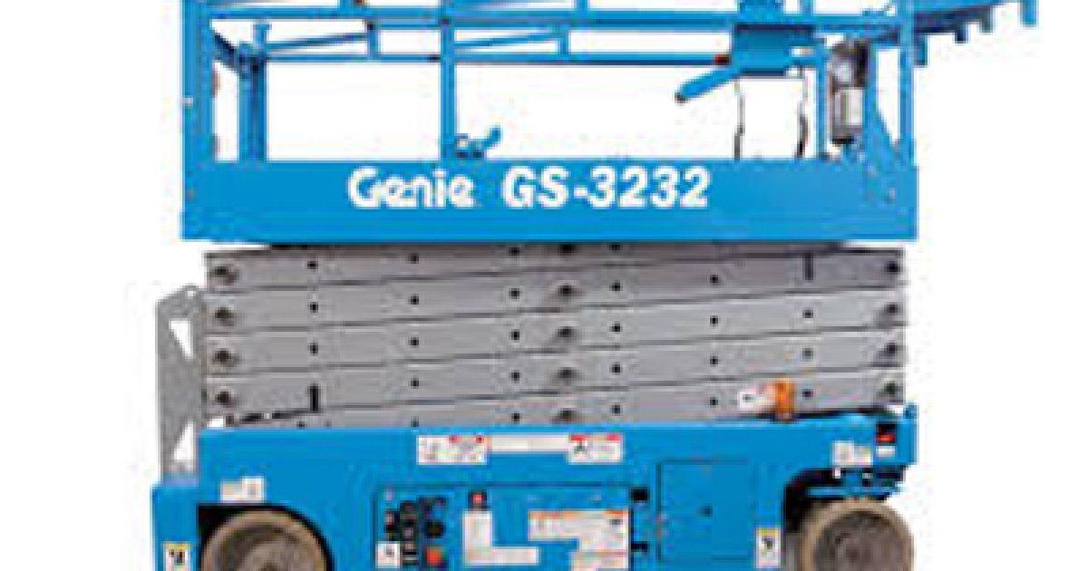 ACS Sound and Lighting | Scissor Lift Genie GS-3232 - 32'