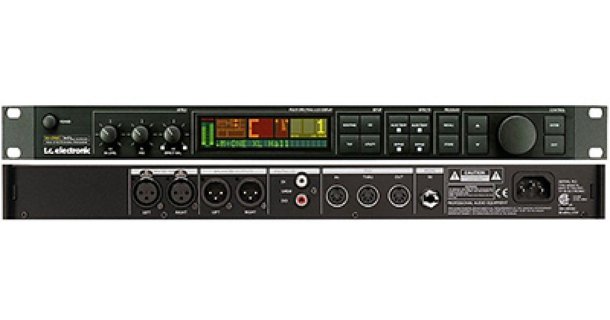 Acs Sound And Lighting Tc Electronic M One Reverb