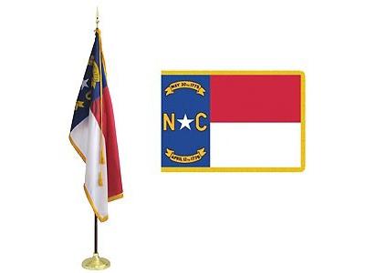 Nc Flag Set