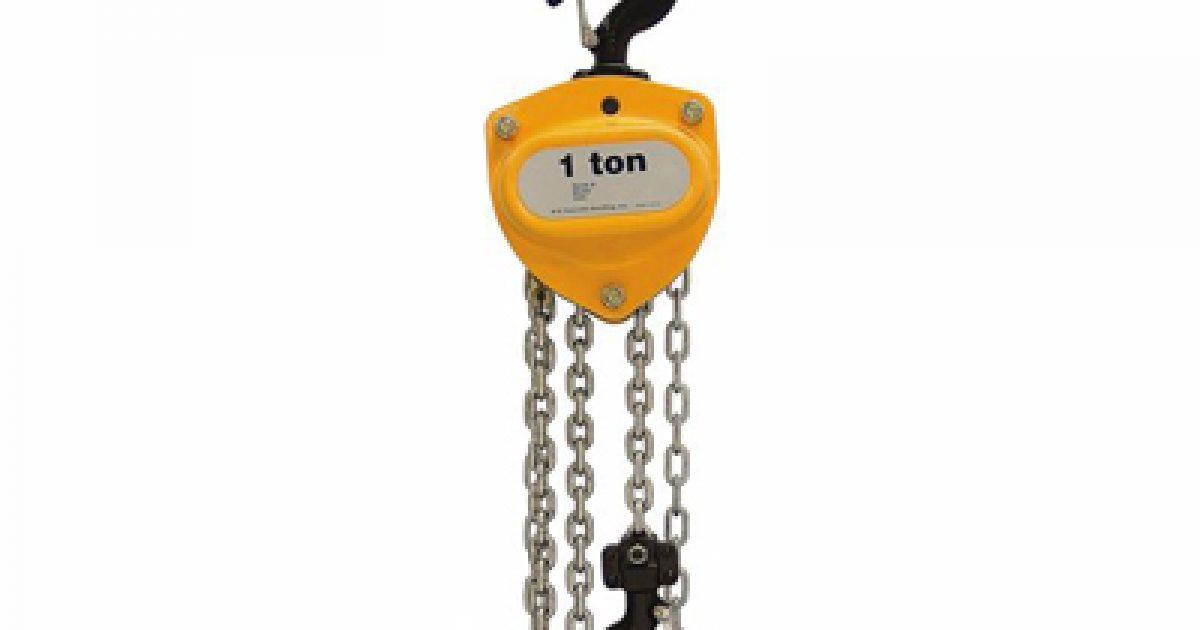 Acs Sound And Lighting R Amp M 1 Ton Manual Chain Hoist 30