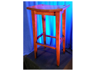 Stool Wooden Backless