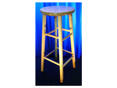 Stool Basic Blonde Wood