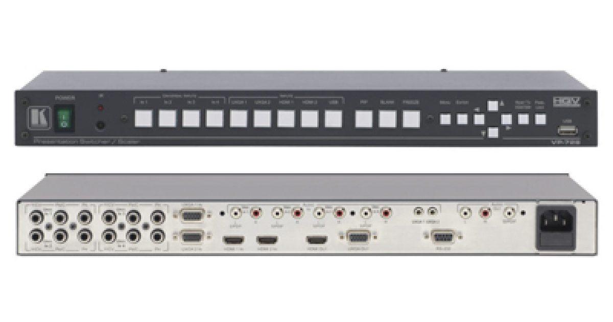 Acs Sound And Lighting Kramer Vp 728 9 Input Scaler Switcher