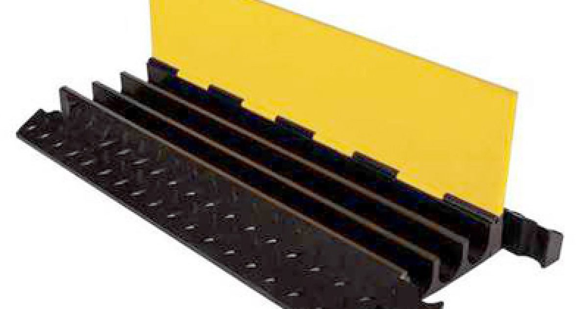 Acs Sound And Lighting Cable Ramp Yellow Jacket 3